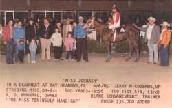 Miss Jordash win picture 4/6/1985