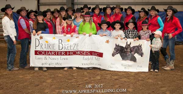 2012 JJK Barrel Racing winners