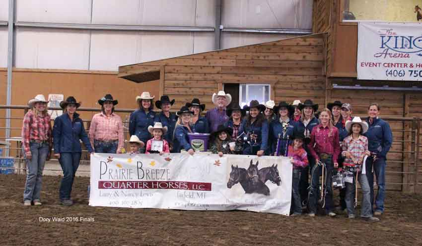 JJK Barrel Racing winners